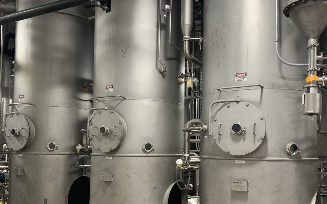 Scenes from a Caloris FlexMode® and Spray Dryer Installation