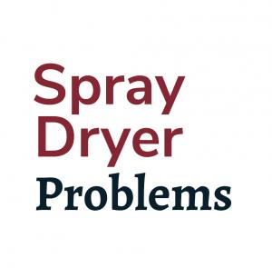 spray dryer problems